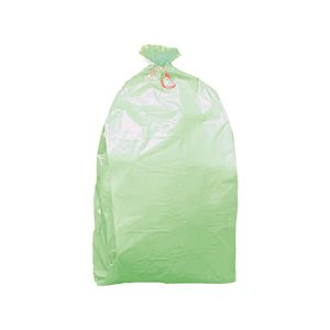 Sacco immondizia compostabile 50+40x120 81g